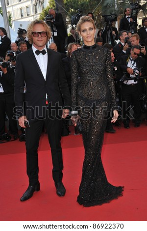 "Anja Rubik & Peter Dundas at the premiere of ""This Must Be The Place"" in competition at the 64th Festival de Cannes. May 20, 2011  Cannes, France Picture: Paul Smith / Featureflash"