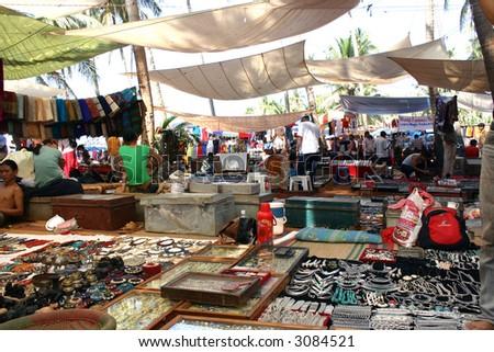 Anjuna Hippy Flea Market