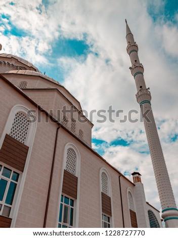 Ankara Kahraman Kazan Ulu Camii mosque. Stok fotoğraf ©