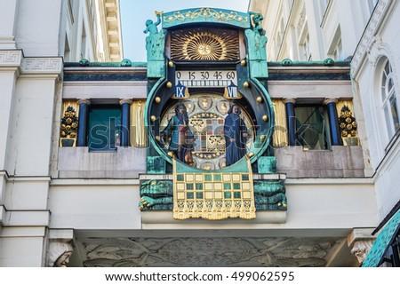 anker clock  ankeruhr  1911  in ...