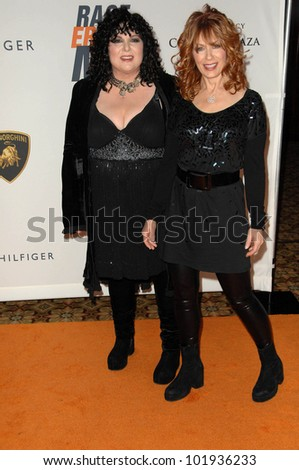Ann Wilson and Nancy Wilson at the 17th Annual Race To Erase MS, Century Plaza Hotel, Century City, CA 05-07-10