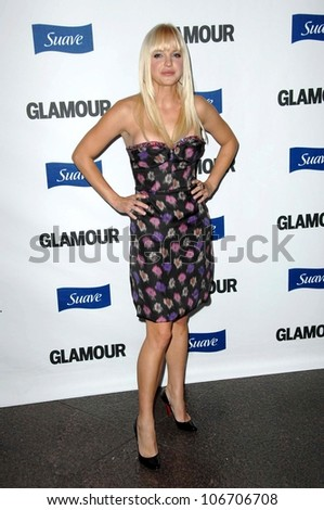 Anna Faris  at the 2008 Glamour Reel Moments Gala. Directors Guild of America, Los Angeles, CA. 10-14-08