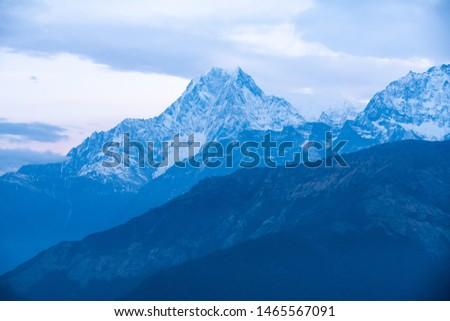 Annapurna Base Camp Trekking the spectacular trekking trails in Nepal #1465567091