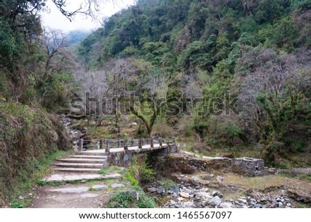 Annapurna Base Camp Trekking the spectacular trekking trails in Nepal #1465567097
