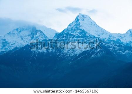 Annapurna Base Camp Trekking the spectacular trekking trails in Nepal #1465567106