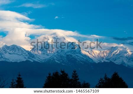 Annapurna Base Camp Trekking the spectacular trekking trails in Nepal #1465567109