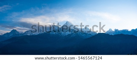 Annapurna Base Camp Trekking the spectacular trekking trails in Nepal #1465567124