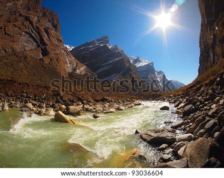 Annapurna Himal region of north central Nepal
