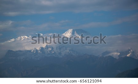 Annapurna Mountain Range, Nepal #656121094