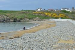 Annestown beach in Ireland
