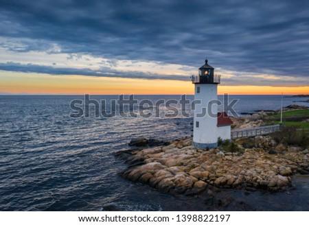 Annisquam Harbor Light Gloucester Massachusetts #1398822197