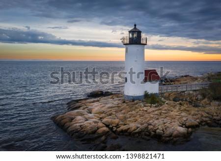 Annisquam Harbor Light House Gloucester #1398821471