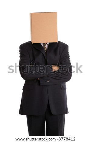 Anonymous businessman with his arms folded.