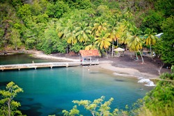 Anse Noire, near Grande Anse, Martinique, Carribbean