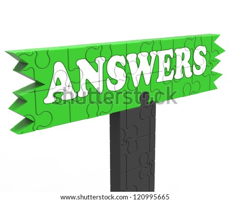 Answer Showing Information Knowledge Solving Problem Question