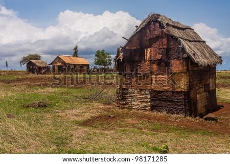 Antakarana village near Antsiranana, north of Madagascar