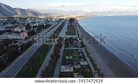 Antalya Finike Sahil (Drone Cam) Stok fotoğraf ©