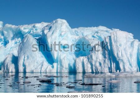 Antarctic Berg - stock photo