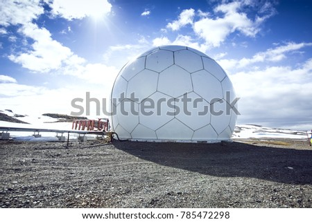Antarctic expedition station