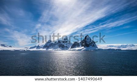 Antarctic Peninsula during the summer #1407490649