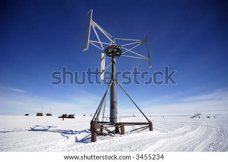 Antarctic wind energy
