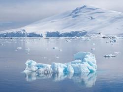 Antarctica Channel iceberg