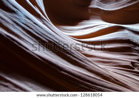 Antelope Canyon in Arizona in the United States of America