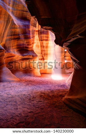 Antelope canyon, Lake Powell, Page