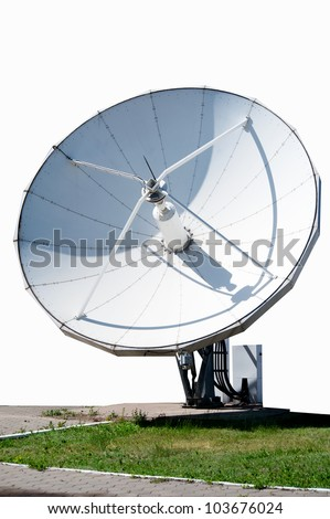 antenna for radio and telecasts
