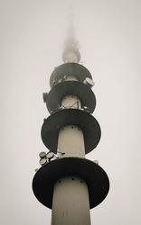 antenna tower which transmit television