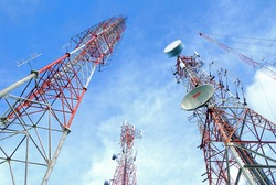 Antenna TV It is characterized by high towers made of steel. Used to transmit television signals.