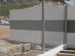 Anti-climb fencing made from galvanized steel install at the perimeter or property boundary to prevent from the intruder. Its close nets can prevent intruders from climbing the fence.