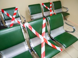 Anti-epidemic measures in the waiting room for the prevention of coronavirus