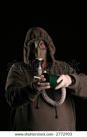 how to make a gas mask for smoking