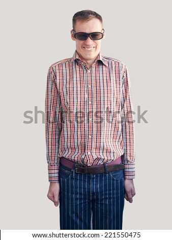 Striped Shirt With Plaid Pants