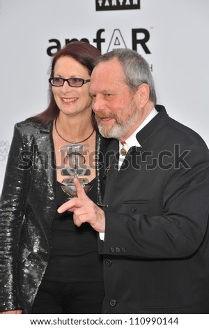 ANTIBES, FRANCE - MAY 21, 2009: Terry Gilliam at amfAR's Cinema Against AIDS Gala at the Hotel du Cap d'Antibes. May 21, 2009  Antibes, France