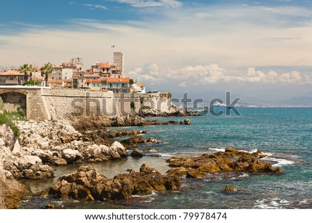 Antibes looking to Nice