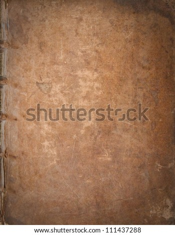 antic book cover texture