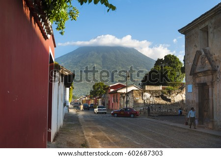 antigua guatemala   september...