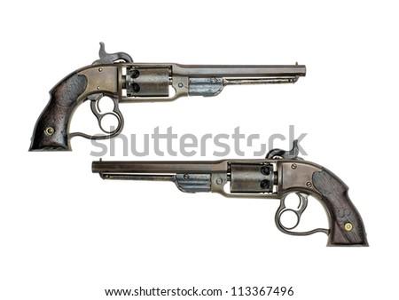 antique american percussion revolver