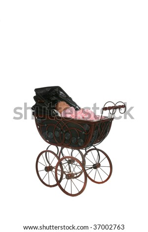 ANTIQUE BABY DOLL CARRIAGE STROLLER | INSTAPPRAISAL