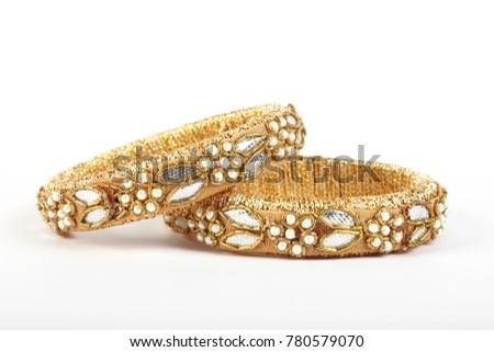 Antique Bangle For Beautiful Hands.