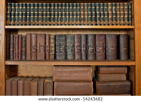 antique book row