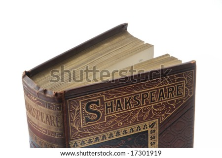 Antique book - Shakespeare published in 1890