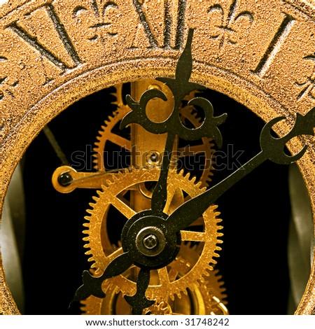 Antique Clock (twelve o\'clock)