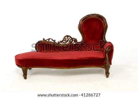 Antique Couch - stock photo