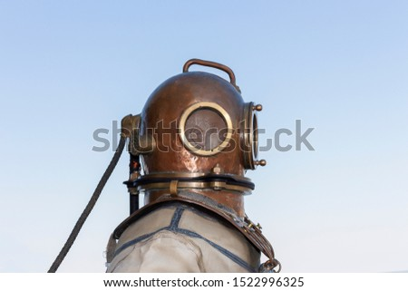 Antique Diving Helmet -diving equipment  #1522996325