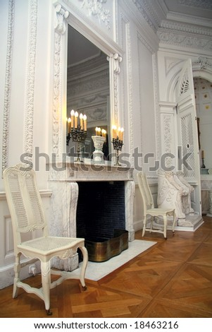 Antique European house - Palace interiors