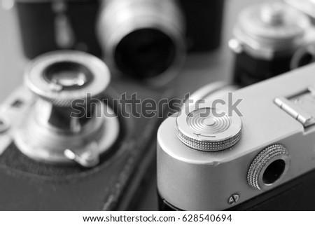 Antique Film Cameras #628540694