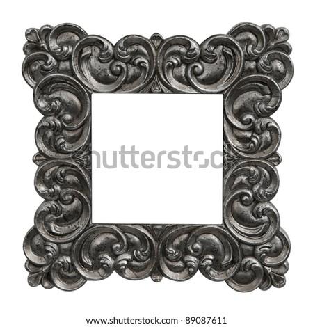 antique frame baroque
